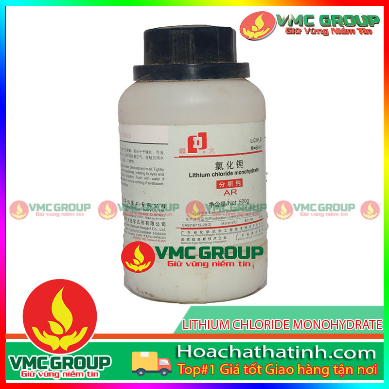 LITHIUM CHLORIDE MONOHYDRATE - LiCl•H2O HCVMHT