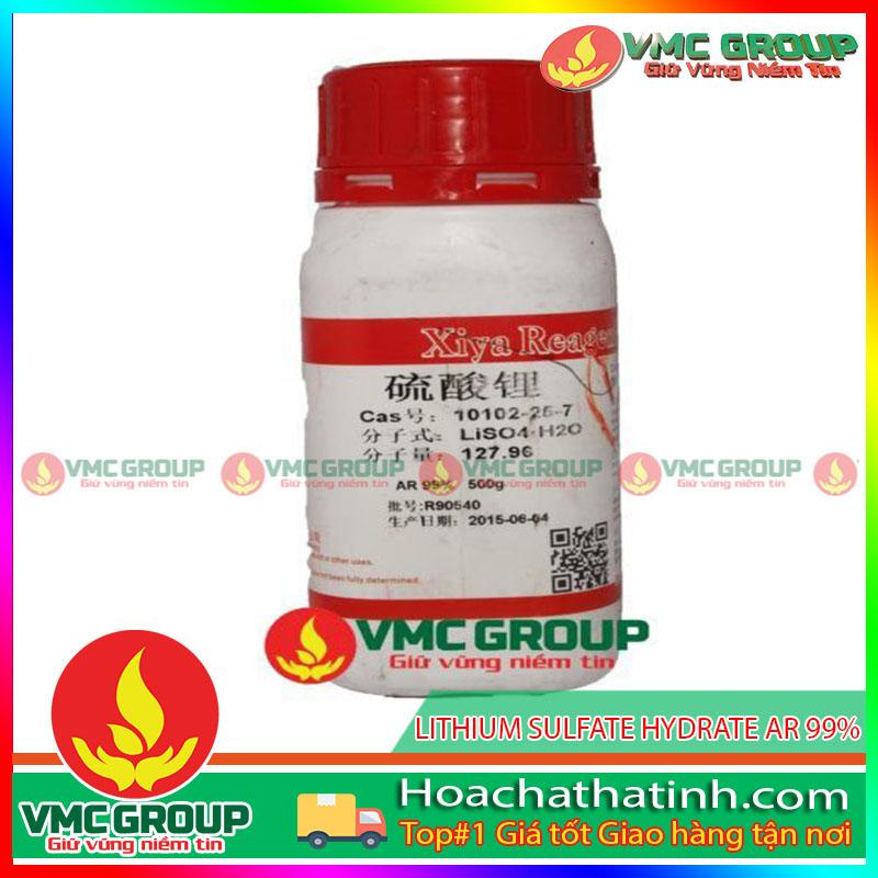 LITHIUM SULFATE HYDRATE AR 99% - Li2SO4•H2O HCVMHT