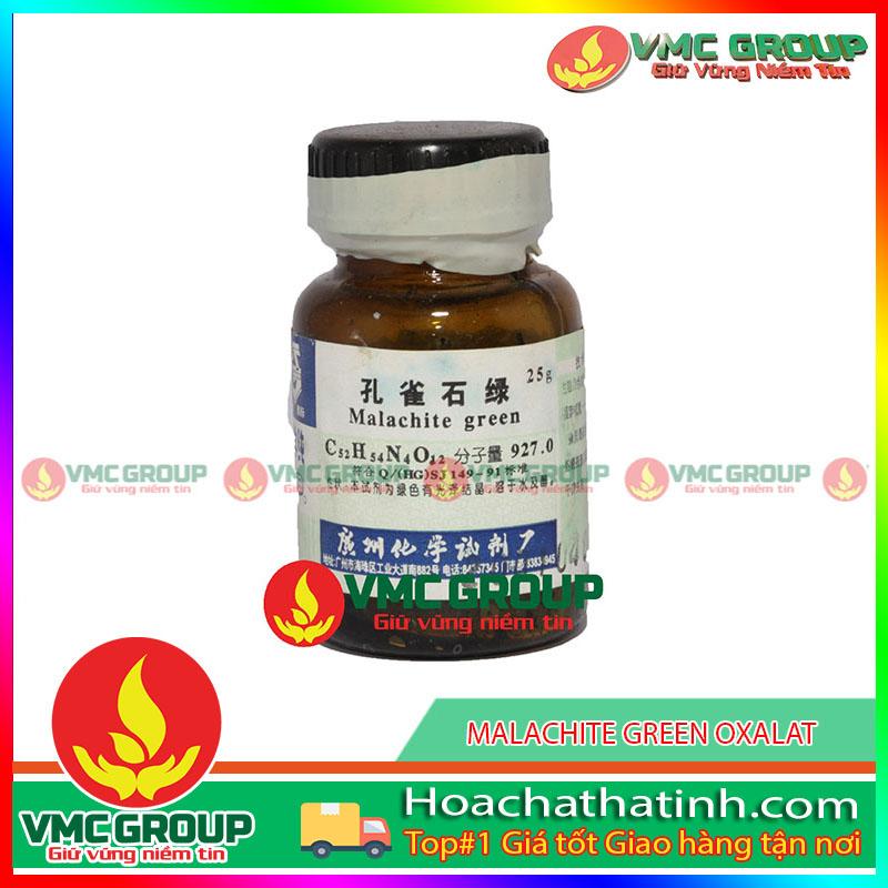 MÀU XANH MALACHITE - MALACHITE GREEN HCVMHT