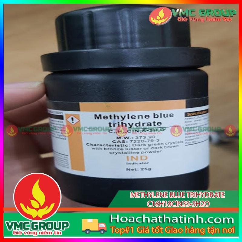 METHYLENE BLUE TRIHYDRATE - C16H18ClN3S•3H2O HCVMHT