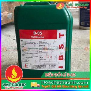 BÁN CHẤT BIẾN ĐỔI GỈ B-05- HCHT