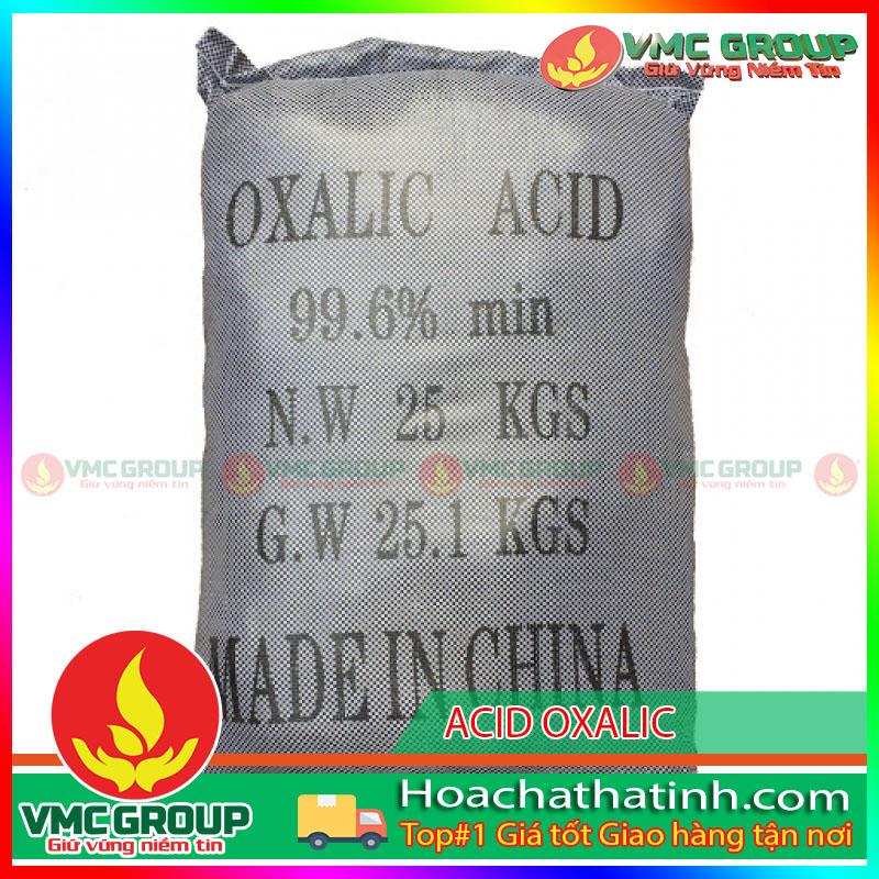 BÁN ACID OXALIC – C2H2O4- HCHT