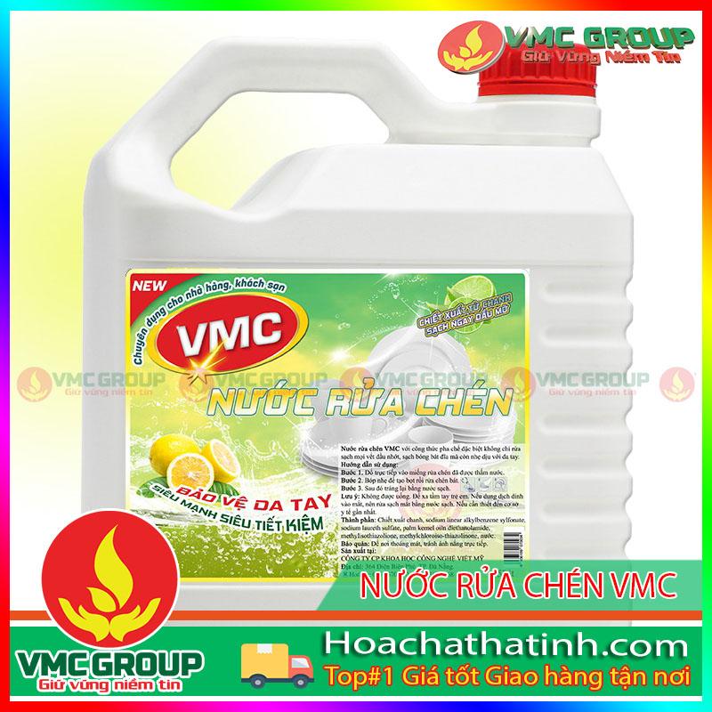 BÁN NƯỚC RỬA CHÉN VMC CAN 5 LÍT- HCHT