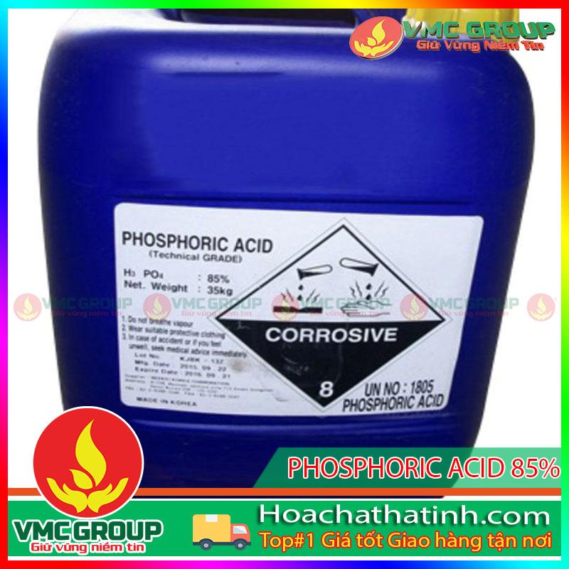 BÁN AXIT H3PO4 – PHOSPHORIC ACID 85% -HCHT