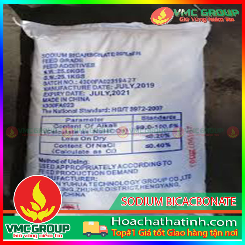 BÁN SODIUM BICACBONATE-NAHCO3 (TRUNG QUỐC) HCHT