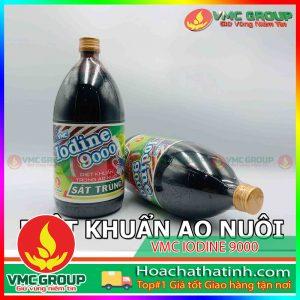 BÁN HÓA CHẤT THỦY SẢN VMC IODINE 9000 -HCHT