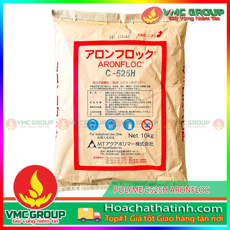 POLYME C525H ARONFLOC, NHẬT BẢN, 10KG/BAO HCVMHT